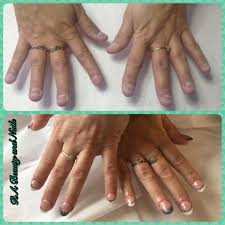 french design for nail biters hard gel sculpted products used