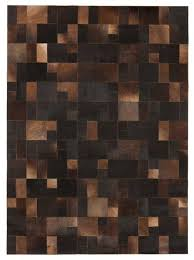 Leather Area Rug Leather Rugs Home Accessory Rug Leather Rugs Hide Rugs Geometric