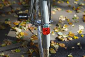 bicycle rear fender light aftermarket dynamo lights a clean look