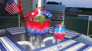 Water Bead Centerpieces by Patriotic Water Beads Water Beads Design