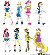 Disney Princess Meme - disney princess as pokemon characters by skymonkey meme center