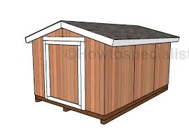 free short shed plans howtospecialist how to build step by