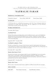 Writing A Summary For Resume Federal Resume Writers Com