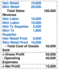hair stylist salary 2014 analyzing your end of year income statement