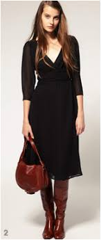 dresses with boots footwear for midi length skirts and dresses ylf
