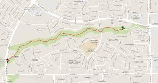 Las Vegas Gang Map Pueblo Park Trail Trails Wizard Of Vegas
