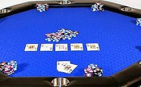 suited speed cloth poker table with stainless cup holder 5 colors