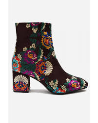 s heeled ankle boots uk edith embroidered heeled ankle boots heeled boots footwear