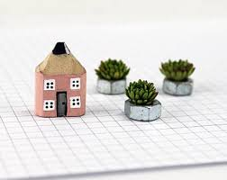 miniature house etsy