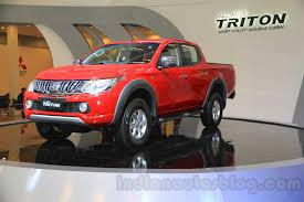 mitsubishi truck indonesia new mitsubishi triton launching in south africa in mid 2016