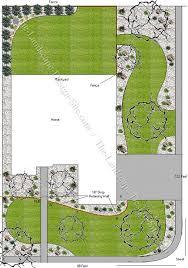 Landscape Design Ideas For Backyard Yard Plans Gallery 17 Free Designs