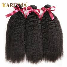 Inexpensive Human Hair Extensions by 10a Mongolian Straight 3pcs Human Hair Weave Coarse Yaki