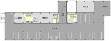 figure of shibuya city new government building floor plan