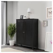 Wohnzimmerschrank Ikea Hemnes Schrank Mit 2 Türen Schwarzbraun Ikea