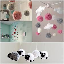 babyzimmer deko basteln mobile basteln 18 ideen fürs babys erste spielzeug für kinder