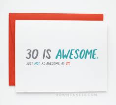 awesome birthday cards 30 is awesome birthday card row house 14