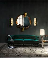 20 exquisite wall mirror designs for your living room