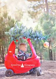 christmas car with tree on top cozy coupe diy www