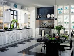 glass fronted cabinets low cost kitchen cabinet makeover ideas