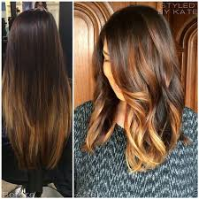 does hair look like ombre when highlights growing out hair color trends 2017 2018 highlights hair makeover grown out