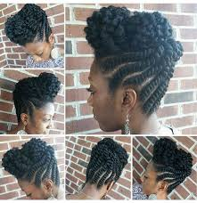 pictures of flat twist hairstyles for black women flat twist updo partial twist out braids for black women