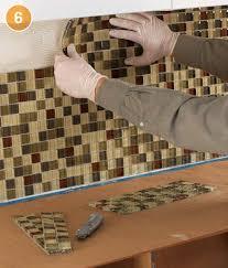 plastic kitchen backsplash how to install tiled backsplash quarto knows