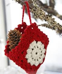 crocheted christmas 30 easy crochet christmas ornaments to decorate your tree diy