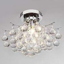 Pendant Light Dubai by Vivreal Crystal Chandelier With 3 Lights Ceiling Light Pendant
