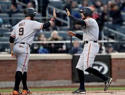 giants hit 2 homers in new york but lose again sfgate