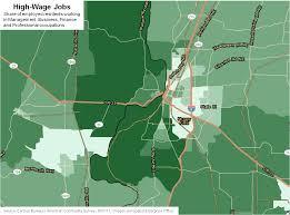 Map Of Salem Oregon by Salem Polarization Maps Oregon Office Of Economic Analysis