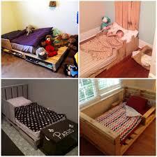 5 simple diy pallet toddler beds pallets projects diy etc