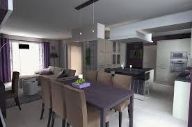 amenagement cuisine salon salle a manger vos idées de design d