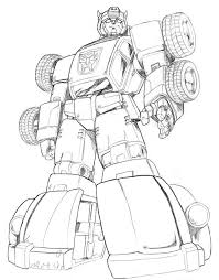 transformers bumblebee coloring pages coloring