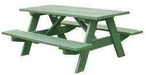 Free Hexagon Picnic Table Designs by Picnic Table Plans