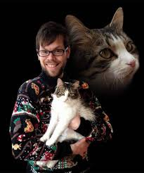 these guys find the purrfect idea for cards ten photos