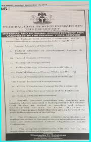 Ministry Of Interior Recruitment Ministry Of Education Nigeria Recruitment Free Education 365