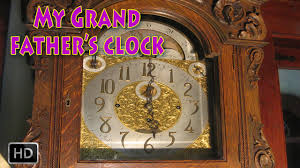 grandfather s clock my grandfather u0027s clock with lyrics nursery rhymes for children