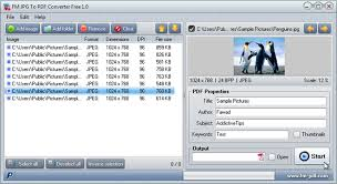 Jpg To Pdf Easily Convert Jpg Other Images To Pdf Files In A Batch Process