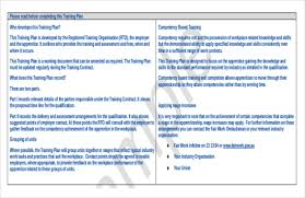 13 training strategy templates u2013 free sample example format