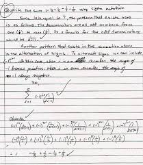 math 15 spring 2003 notes writing samples of student writing