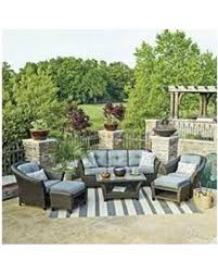 Agio Patio Set Amazing Deal Member U0027s Mark Toronto Deep Seating Set With Pfifer