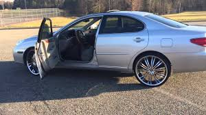 2004 lexus es 350 05 lexus es 330 on 22s
