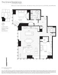 floors plans millennium tower skybox realty