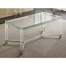 stacked cubes crystal table l acrylic coffee console sofa end tables for less overstock com