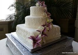 tiered wedding cakes kalico kitchen square tiered wedding cake kalico kitchen