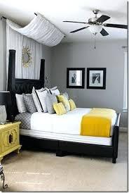 gray interior gray and yellow bedroom decor katecaudillo me