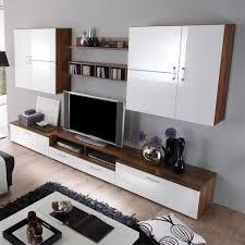 Wohnzimmerschrank Nussbaum Kaufen Weiße Hochglanz Wohnwand Dekoration Und Interior Design Als