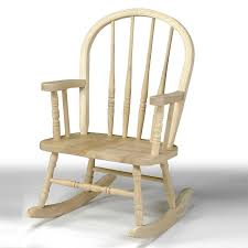 international concepts windsor childrens rocking chair