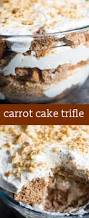 carrot cake trifle easy dessert recipe with carrot cake and cream