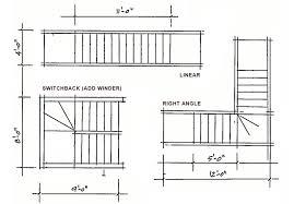 floor plan stairs stair case design elements penciljazz architecture of maine